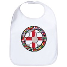 England Flag World Cup Footba Bib