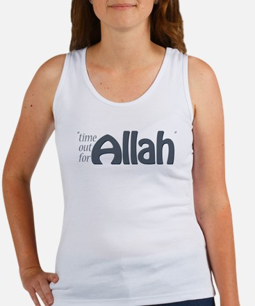 """Time for ALLAH"" Women's Tank Top"