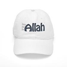 """""""Time for ALLAH"""" Baseball Cap"""