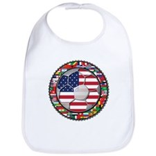 United States Flag World Cup Bib