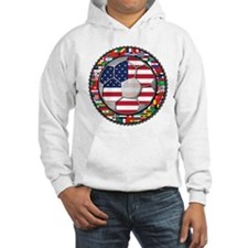 United States Flag World Cup Hoodie