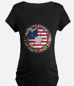 United States Flag World Cup T-Shirt