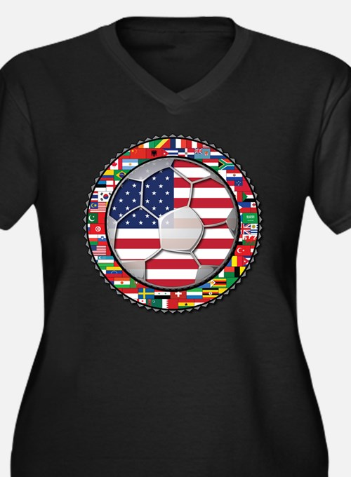 World Cup Soccer Women's Plus Size Clothing