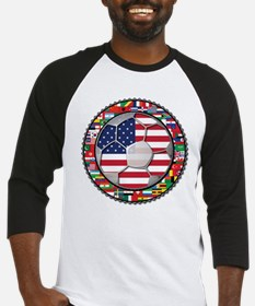 United States Flag World Cup Baseball Jersey