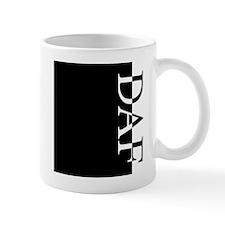 DAF Typography Mug