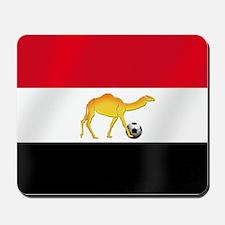 Egypt Camel Soccer Flag Mousepad