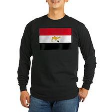Egypt Camel Soccer Flag T
