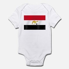 Egypt Camel Soccer Flag Infant Bodysuit