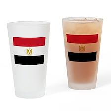 Flag of Egypt Drinking Glass