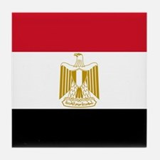 Flag of Egypt Tile Coaster