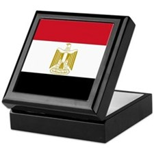 Flag of Egypt Keepsake Box