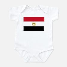 Flag of Egypt Infant Bodysuit