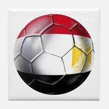 Egyptian Soccer Ball Tile Coaster