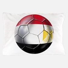 Egyptian Soccer Ball Pillow Case