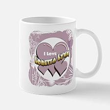 I Love Loretta Lynn Small Small Mug