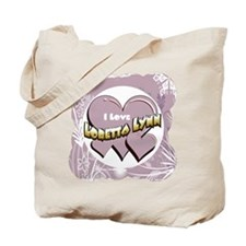 I Love Loretta Lynn Tote Bag