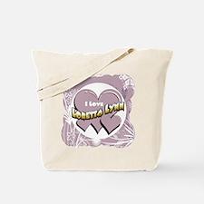 I Love Loretta Lynn Tote Bag