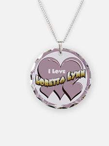 I Love Loretta Lynn Necklace