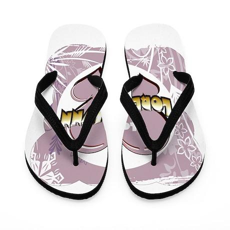 I Love Loretta Lynn Flip Flops