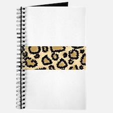 Leopard Print Pattern Journal