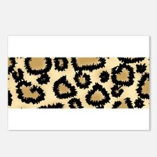 Leopard Print Pattern Postcards (Package of 8)