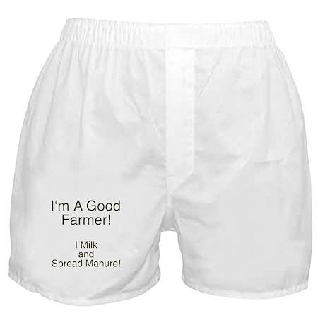 A Good Farmer Boxer Shorts