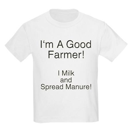 A Good Farmer Kids Light T-Shirt