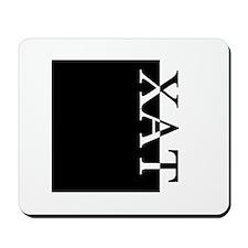 XAT Typography Mousepad