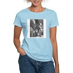Dore's Bluebeard Women's Pink T-Shirt
