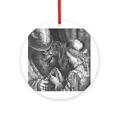 Dore's Bluebeard Ornament (Round)