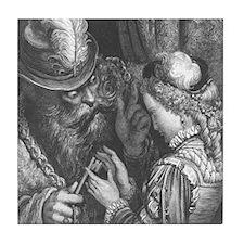 Dore's Bluebeard Tile Coaster