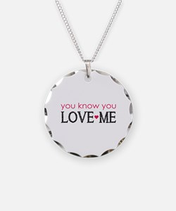 GG You know you love me Necklace