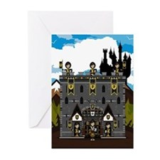 Medieval Knights & Castle Cards (Pk of 20)