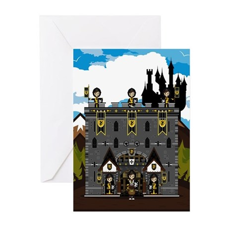 Medieval Knights & Castle Cards (Pk of 10)