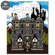 Medeval Knights & Castle Puzzle