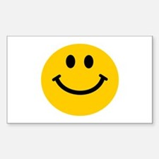 Yellow Smiley Face Decal