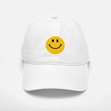 Yellow Smiley Face Baseball Baseball Cap