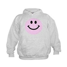 Pink Smiley Face Hoody