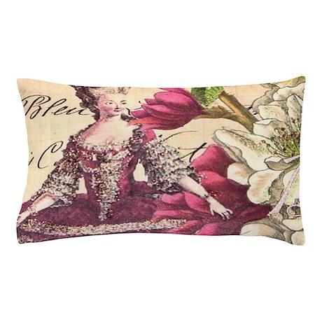VINTAGE LADY Pillow Case