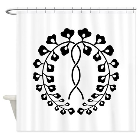 Ichijo fuji Shower Curtain