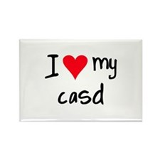 I LOVE MY CASD Rectangle Magnet (10 pack)