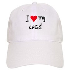 I LOVE MY CASD Baseball Cap