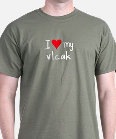 I LOVE MY Vlcak T-Shirt