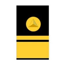 NOAA Rear Admiral<BR> Vertical Decal