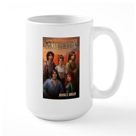 Five Dollar Mail Large Mug