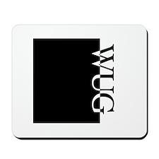 WUG Typography Mousepad