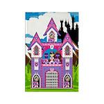 Fairytale Princess Castle Scene Magnet