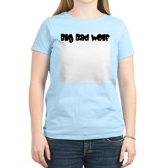Big Bad Wolf Women's Pink T-Shirt