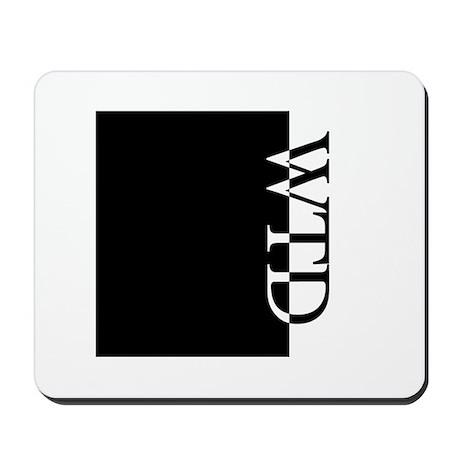 WTD Typography Mousepad