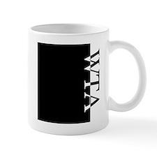 WTA Typography Mug